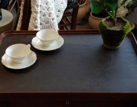 Laua plaat kaetud nahaga, nahkade valikut tule vaata Ringiääres.